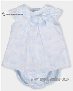 Tutto Piccolo girls dress & knicks 2213 Blue