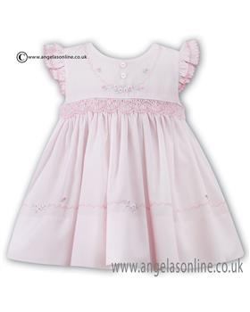 Sarah Louise girls dress 010671 Pink