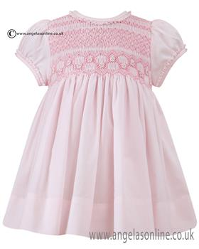 Sarah Louise girls summer dress 010688 Pink