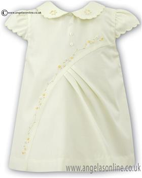 Sarah Louise girls dress 010643 Lemon