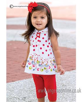 Sarah Louise girls 2 piece set 010804
