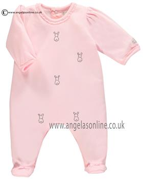 Emile Et Rose Girls All-In-One With Bunny Kala 1703pp Pink