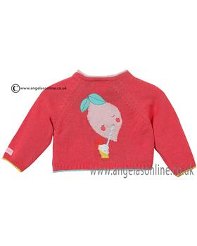 Catimini baby girls knitted cardigan CJ18051 Coral