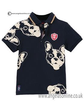 Catimini boys T shirt CJ11052 Navy