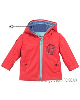 Catimini baby boys shower proof jacket CJ42021 Red
