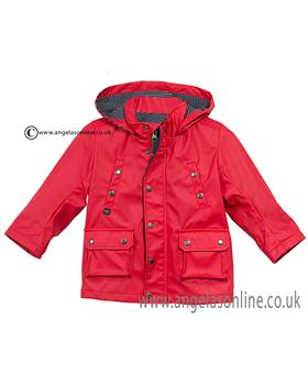 Catimini boys showerproof jacket CJ42022 Red