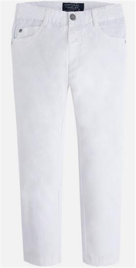 Mayoral boys trousers 509-17 White