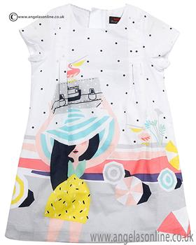 Catimini girls dress CJ30043