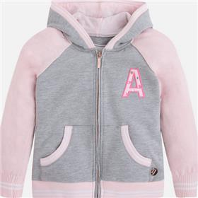 Mayoral girls hoody 3481-17 pink