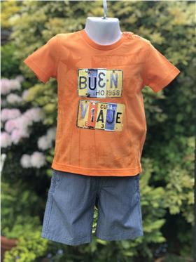 I Do boys T shirt and short S719-S738