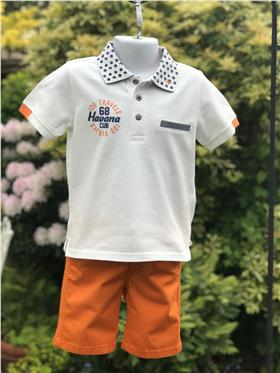 I Do boys polo shirt and short S722-S741