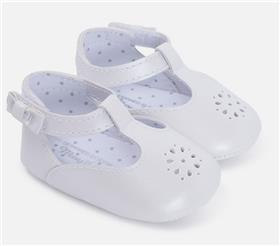 Mayoral girls shoes 9497 White