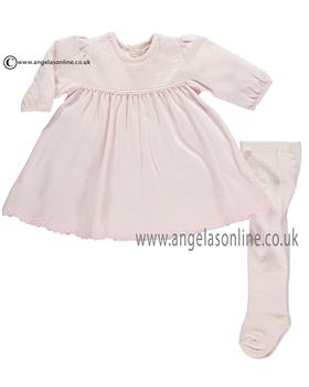 Emile et Rose girls dress & tight set Lynn 8336pp-17 Pink