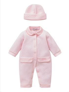 Co Co Baby Girls Babygrow 3 piece A6002-17 Pink