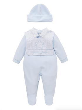 Co Co Baby Boys Babygrow 3 piece A61005-17 Blue