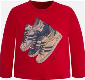 Mayoral boys T shirt 4007-17 Red