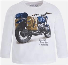 Mayoral boys T shirt 4027-17 White