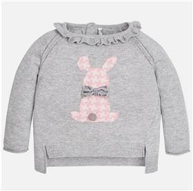 Mayoral Baby Girls Jumper & Leggings 2333-733-17 Grey/Pink
