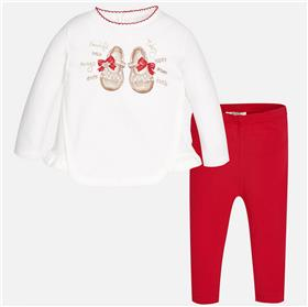 Mayoral Baby Girls Leg Set 2799-17 Red