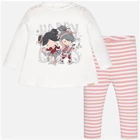 Mayoral Baby Girls Leg Set 2770-17 Pink