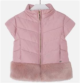 Mayoral girls gillet 4435-17 Pink