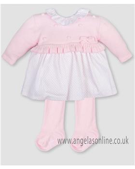 Tutto Piccolo girls dress 3200-17 Pink
