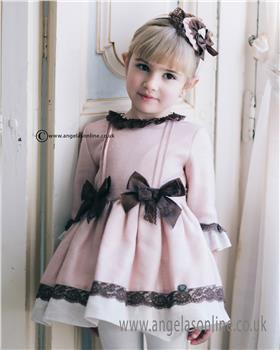 Dolce Petit Girls Dress 22-2248-V Pink