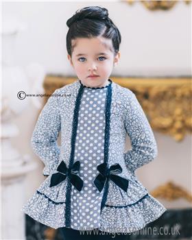 Dolce Petit Girls Dress 22-2269-V Blue