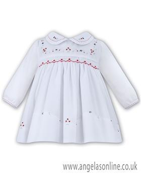 Sarah Louise girls winter dress 010876-17