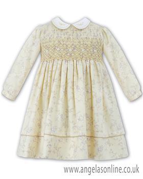 Sarah Louise girls winter dress 010935-17