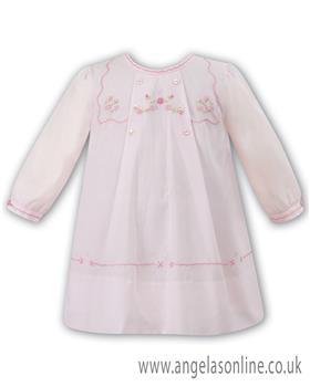 Sarah Louise girls winter dress 010865L-17 Pink