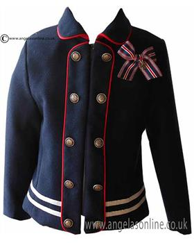 Loan Bor girls military jacket 8628-17