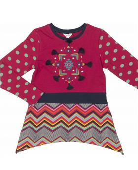 Happy Calegi girls tunic and leggings CA1180-1179-17