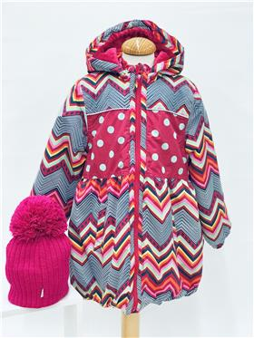 Happy Calegi girls winter coat CA1171
