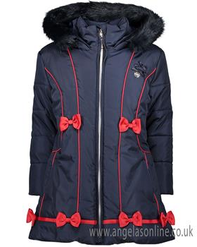 S&D Le Chic Girls Long Jacket C7085201 Navy