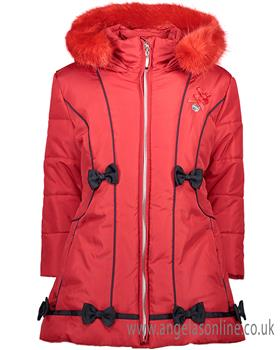 S&D Le Chic Girls Long Jacket C7085201 Red