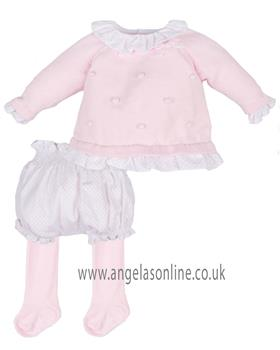 Tutto Piccolo girls jumper & short 3601-3300-17 Pink