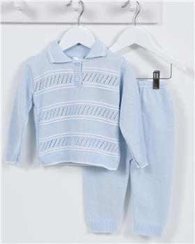 Pex boys top & trouser set Lincoln B6970 Blue