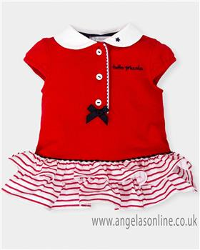 Tutto Piccolo Girls Dress 4414-18 Red