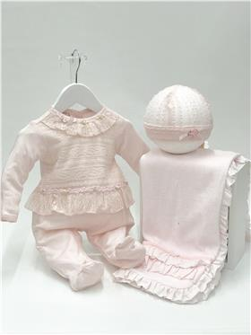 Kate Mack Baby Girls All in One 300PMN Pink