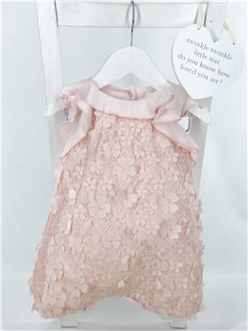 Kate Mack Baby Girls shortall 312PR-18 Pink