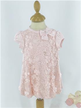 Kate Mack baby girls dress & panty 313PR-18 Pink