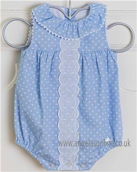 Dolce Petit baby girls romper 23-2000-P Blue