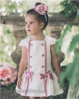 Dolce Petit girls dress 23-2002-V