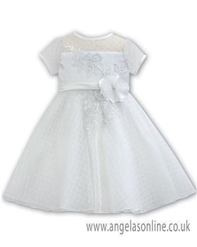 Sarah Louise Christening dress 070059 Ivory