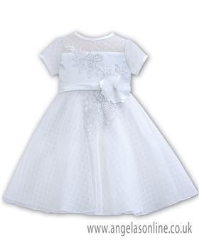 Sarah Louise Christening dress 070059 White