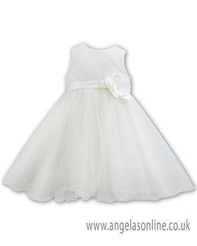 Sarah Louise Christening dress 070089 Ivory