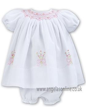 Sarah Louise baby girls dress 011050 W/P