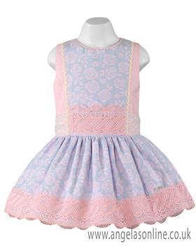Miranda Girls Dress 23-0220-V Pink