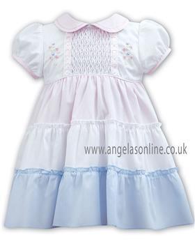 Sarah Louise baby girls dress 011074